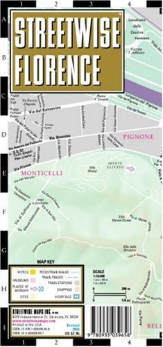 us topo - Streetwise Florence Map - Laminated City Center Street Map of Florence, Italy - Folding pocket size travel map - Wide World Maps & MORE! - Book - StreetWise - Wide World Maps & MORE!
