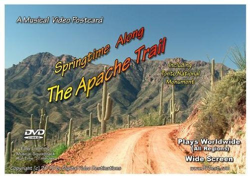 us topo - A Musical Video Postcard: Springtime Along The Apache Trail Including Tonto National Monument - Wide World Maps & MORE! - DVD - Digital Video Destinations - Wide World Maps & MORE!