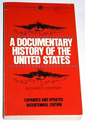 A Documentary History of the U.S.A.