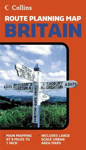 us topo - Britain (Route Planning Map) - Wide World Maps & MORE! - Book - Collins - Wide World Maps & MORE!