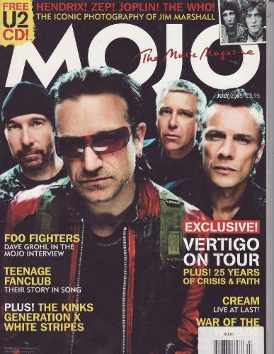 Mojo # 140 - July 2005 - U2 - Wide World Maps & MORE! - Book - Wide World Maps & MORE! - Wide World Maps & MORE!