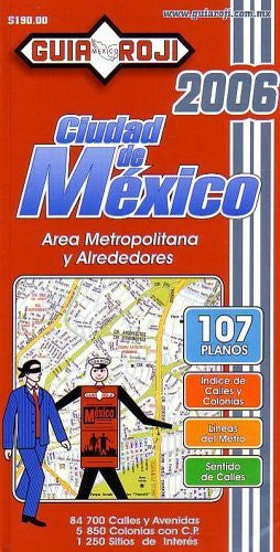 2006 Mexico City Atlas by Guia Roji