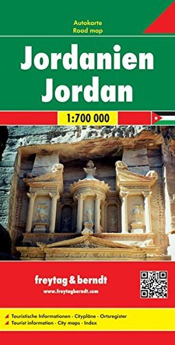 Jordan - Wide World Maps & MORE! - Book - Wide World Maps & MORE! - Wide World Maps & MORE!