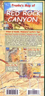 FRANKO MAPS MAP FML CA RED ROCK CANYON GUIDE - Wide World Maps & MORE! - Sports - Franko Maps - Wide World Maps & MORE!