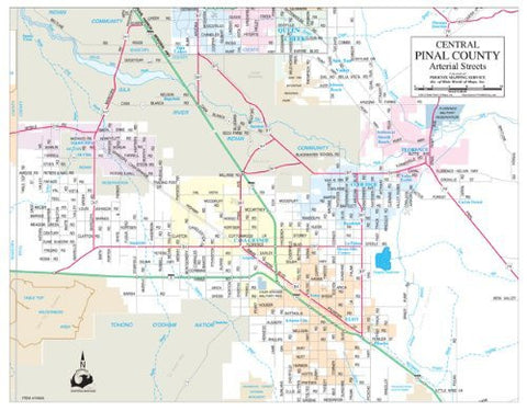 Pinal County Zip Code Map.Wide World Maps More Online Catalog Page 579