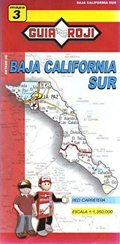 us topo - Estado de Baja California Sur - Wide World Maps & MORE! - Book - Wide World Maps & MORE! - Wide World Maps & MORE!