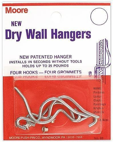 Moore Dry Wall Hangers [7 Pieces] - Product Description - Moore Dry Wall Hang...