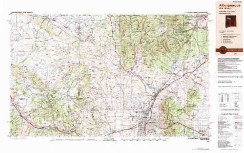 us topo - Albuquerque, NM - Wide World Maps & MORE! - Book - Wide World Maps & MORE! - Wide World Maps & MORE!