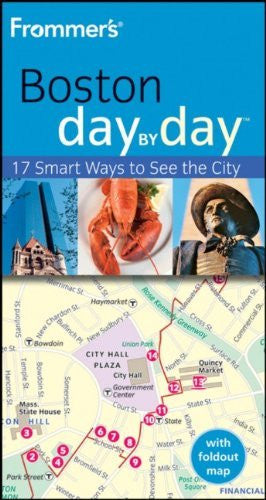 us topo - Frommer's Boston Day by Day (Frommer's Day by Day - Pocket) - Wide World Maps & MORE! - Book - Wide World Maps & MORE! - Wide World Maps & MORE!
