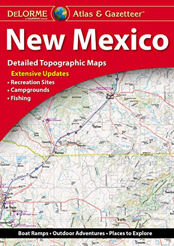 DeLorme New Mexico Atlas & Gazetteer - Wide World Maps & MORE! - Map - DeLorme - Wide World Maps & MORE!