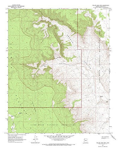 us topo - Yellow John Mountain, Arizona 7.5' - Wide World Maps & MORE! - Book - Wide World Maps & MORE! - Wide World Maps & MORE!