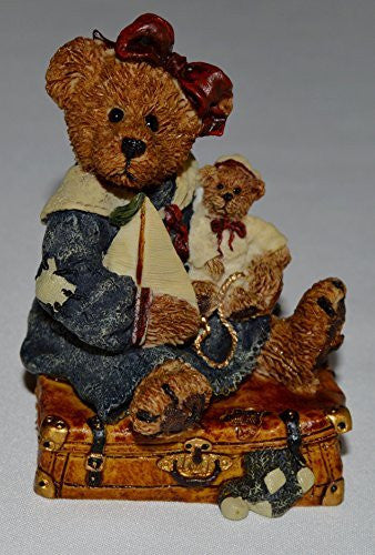 Bailey Bear with Suitcase 2000 Boyds Bear