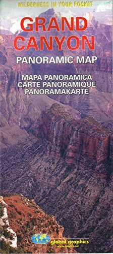 Grand Canyon Panoramic Map (Wilderness in Your Pocket) - Wide World Maps & MORE! - Book - Wide World Maps & MORE! - Wide World Maps & MORE!
