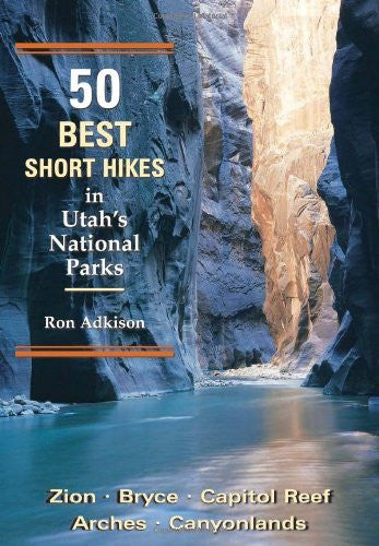 us topo - 50 Best Short Hikes in Utah's National Parks - Wide World Maps & MORE! - Book - Wilderness Press - Wide World Maps & MORE!