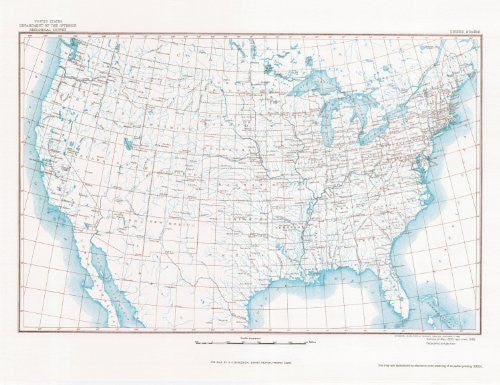United States Map 11A Base Map (TUS5352)