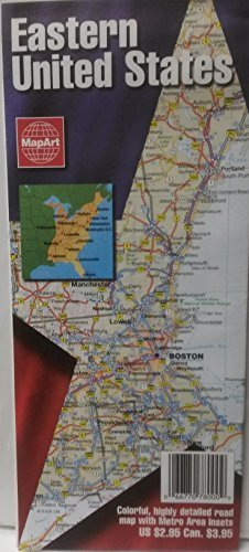 Eastern United States: Detailed Road Map, Inset Maps for Atlanta, Boston on continents of us, region of us, geography of us, human features of us, culture of us, scale of us, longitude of us, climate of us, latitude of us, physical features of us, rural areas of us, globe of us, mountain range of us, river of us, elevation of us, symbol of us, compass rose of us,