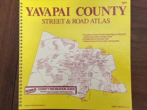 us topo - Yavapai County Street & Road Atlas - Wide World Maps & MORE! - Book - Wide World Maps & MORE! - Wide World Maps & MORE!