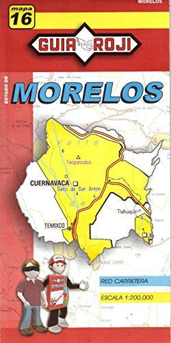 us topo - Estado de Morelos - Wide World Maps & MORE! - Book - Wide World Maps & MORE! - Wide World Maps & MORE!