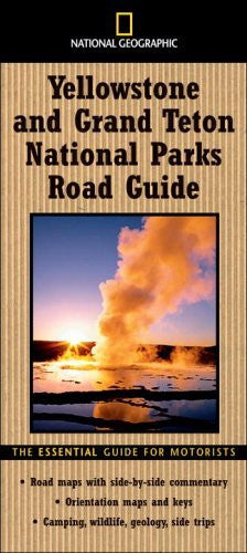us topo - National Geographic Road Guide to Yellowstone and Grand Teton National Parks (National Geographic Road Guides) - Wide World Maps & MORE! - Book - Brand: National Geographic - Wide World Maps & MORE!