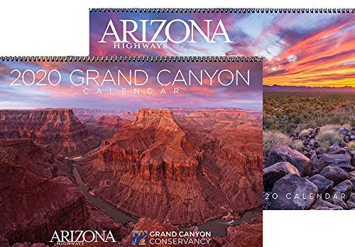 2020 Arizona Highways Classic & Grand Canyon Wall Calendar Combo - Wide World Maps & MORE! - Office Product - Arizona Highways - Wide World Maps & MORE!