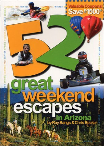 us topo - 52 Great Weekend Escapes in AZ Sc - Wide World Maps & MORE! - Book - Brand: Cooper Square Publishing Llc - Wide World Maps & MORE!