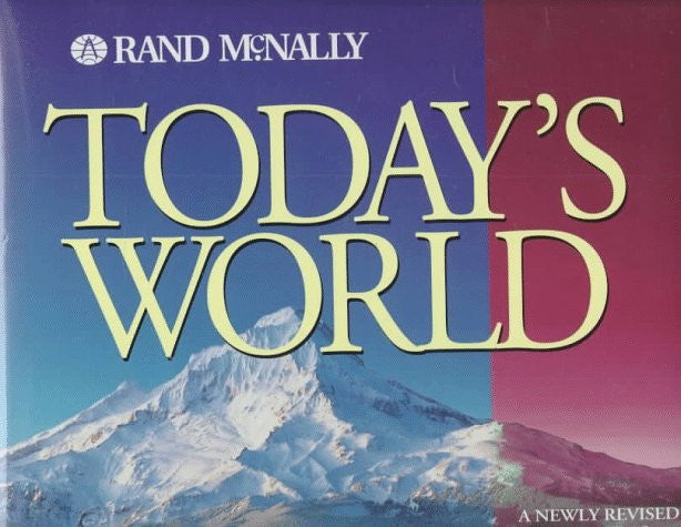 us topo - Today's World - Wide World Maps & MORE! - Book - Brand: Rand Mcnally - Wide World Maps & MORE!