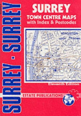 us topo - Surrey (County Red Book) - Wide World Maps & MORE! - Book - Wide World Maps & MORE! - Wide World Maps & MORE!