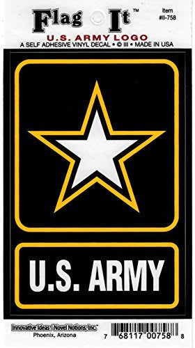 Vinyl Decal- U.S. Army
