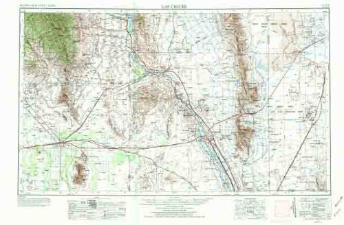 us topo - Las Cruces, NM - Wide World Maps & MORE! - Book - Wide World Maps & MORE! - Wide World Maps & MORE!