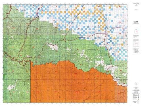 us topo - Arizona GMU 3C Hunt Area / Game Management Units (GMU) Map - Wide World Maps & MORE! - Book - Wide World Maps & MORE! - Wide World Maps & MORE!