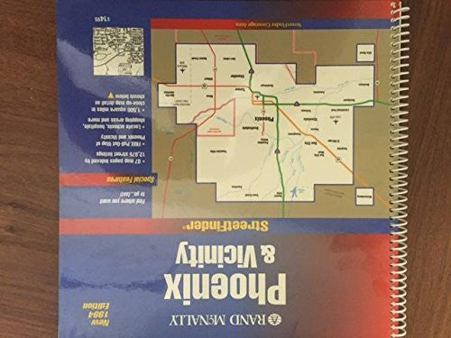 Rand McNally Phoenix and Vicinity (1994) StreetFinder