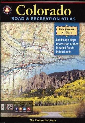 us topo - Colorado Road & Recreation Atlas - Wide World Maps & MORE! - Book - Wide World Maps & MORE! - Wide World Maps & MORE!