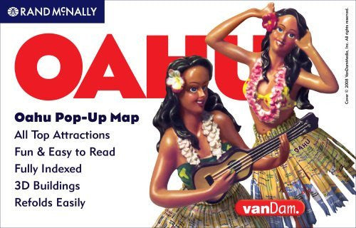 Rand McNally Oahu Pop-Up Map