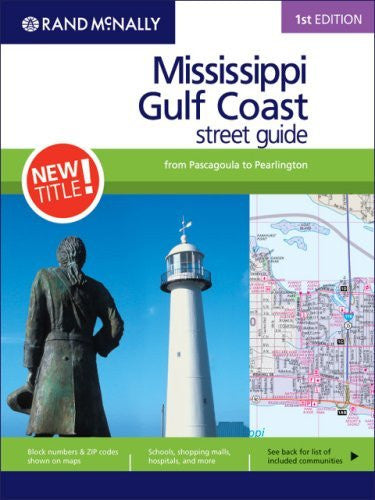 Rand Mcnally Street Guide: Mississippi Gulf Coast
