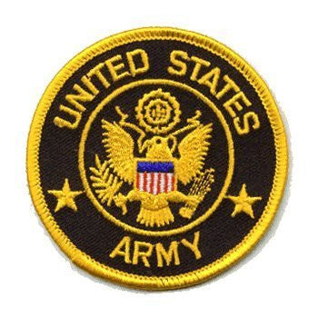 U.S. Army: An Embroidered Iron-On Patch (Two-Pack)