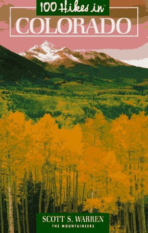 us topo - 100 Hikes in Colorado (100 Hikes Series) - Wide World Maps & MORE! - Book - Brand: Mountaineers Books - Wide World Maps & MORE!