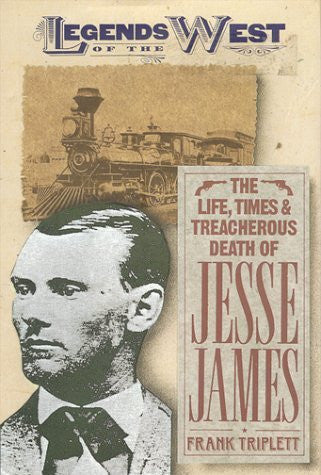 us topo - The Life, Times, and Treacherous Death of Jesse James  (Legends of the West) - Wide World Maps & MORE! - Book - Wide World Maps & MORE! - Wide World Maps & MORE!