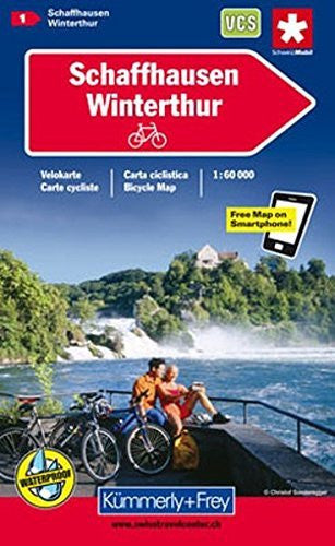 us topo - Schaffhausen / Winterthur Cycle Map: KF.VK.01 - Wide World Maps & MORE! - Book - Wide World Maps & MORE! - Wide World Maps & MORE!