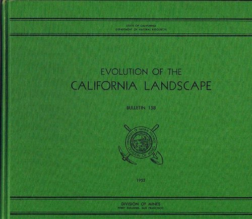 us topo - evolution of the California Landscape Bulletin 158 - Wide World Maps & MORE! - Book - Wide World Maps & MORE! - Wide World Maps & MORE!