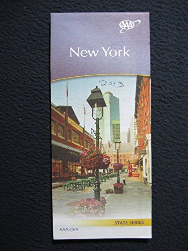 AAA New York 2013 Map - Wide World Maps & MORE! - Book - Wide World Maps & MORE! - Wide World Maps & MORE!