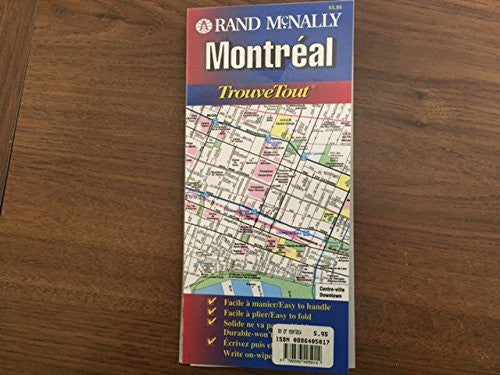 us topo - Rand McNally Montreal: Trouvetout (Easyfinder Map) - Wide World Maps & MORE! - Book - Wide World Maps & MORE! - Wide World Maps & MORE!