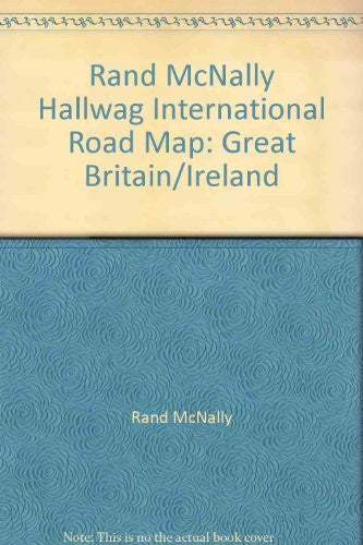 Rand McNally Hallwag International Road Map: Great Britain/Ireland