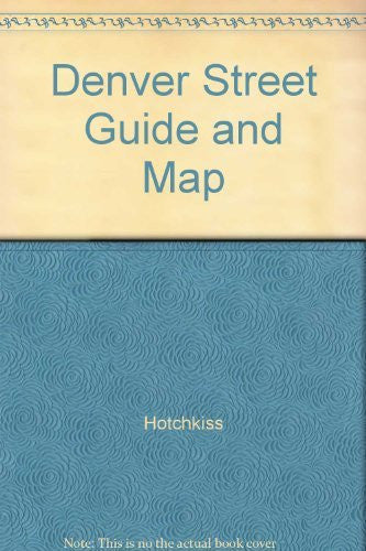 us topo - Denver Street Guide and Map - Wide World Maps & MORE! - Book - Wide World Maps & MORE! - Wide World Maps & MORE!
