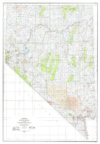State Of Nevada Base Map With Highways Tnv0904 Wide World Maps