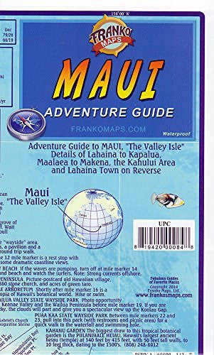 us topo - Franko's Maui Guide Map - Wide World Maps & MORE! - Map - Franko Maps - Wide World Maps & MORE!