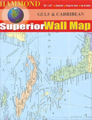 us topo - Gulf and Caribbean (Hammond Superior Series) - Wide World Maps & MORE! - Book - Wide World Maps & MORE! - Wide World Maps & MORE!