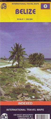Belize 1:250,000 Travel Map 2005*** (International Travel Country Maps: Belize)