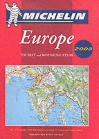 Michelin Europe Tourist and Motoring Atlas (Spiral) No. 1136, 6e (Michelin Road Atlas Europe)