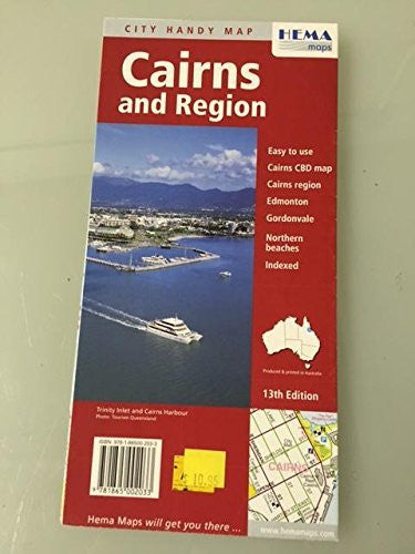 us topo - Cairns and Region City Handy Map - Wide World Maps & MORE! - Book - Wide World Maps & MORE! - Wide World Maps & MORE!