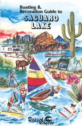 us topo - Boating & Recreation Guide to Saguaro Lake - Wide World Maps & MORE! - Book - Wide World Maps & MORE! - Wide World Maps & MORE!